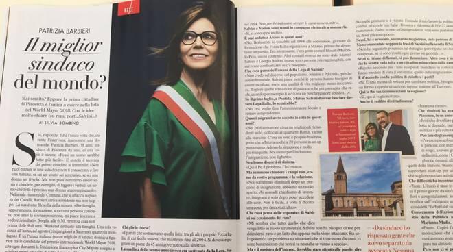 Il sindaco Patrizia Barbieri intervistata da Vanity Fair