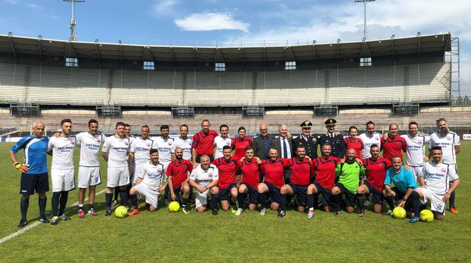 Il torneo interforze, finali al Garilli