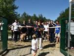 Inagurazione area di sgambamento cani a Montecucco