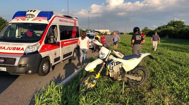 incidente motocross