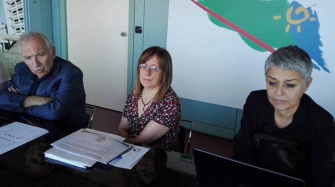L'assessore Bianchi in conferenza stampa