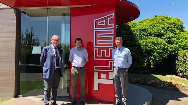 L'azienda Telema si presenta alla città
