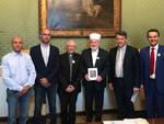 L'incontro del Gran Muftì con il vescovo