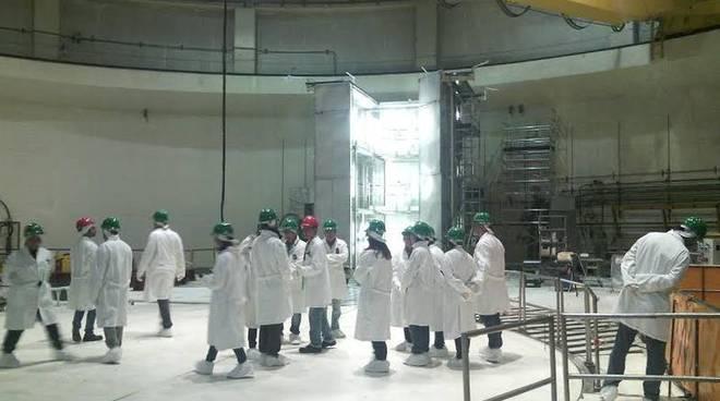 L'interno della centrale di Caorso