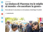L'intervista al sindaco sul Corriere della Sera