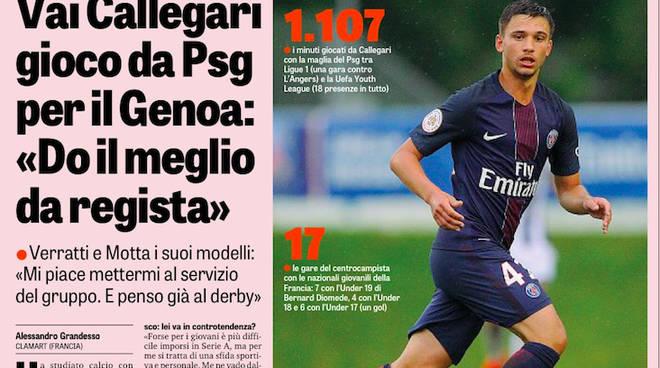 L'intervista sulla Gazzetta dello Sport