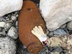 La bomba in riva al Trebbia