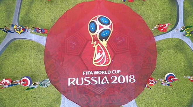 La cerimonia inaugurale dei Mondiali