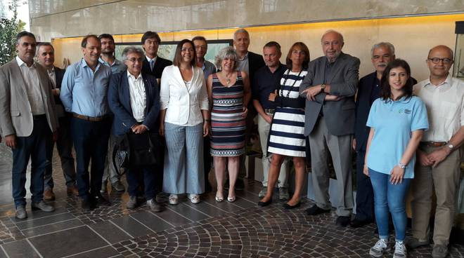 La conferenza stampa con i Consorzi di Bonifica