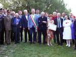 La consegna del premio a Giuseppina Schiavi