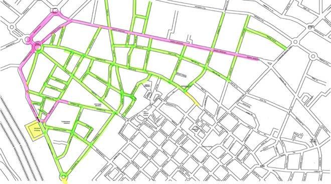 mappa corteo