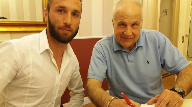 Marotta con Stefano Gatti