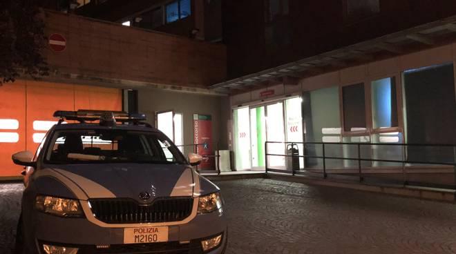 Polizia Stradale in ospedale