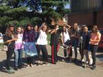 Pulizie di fine anno al Liceo Colombini