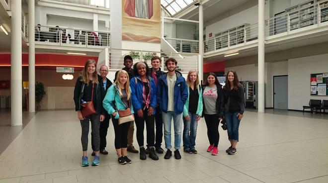 Studenti della North Carolina al Campus della Cattolica di Piacenza