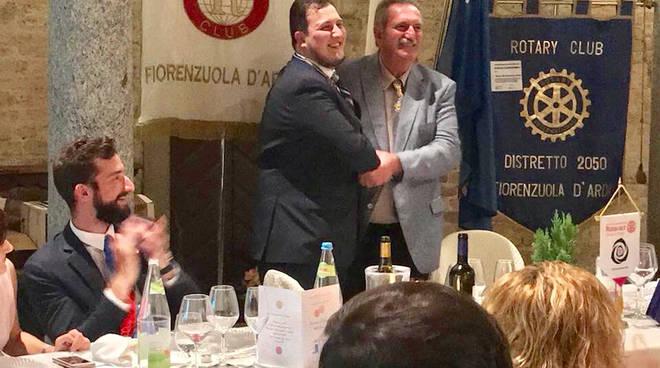 FIORENZUOLA D'ARDA, passaggio delle consegne Rotary e Rotaract