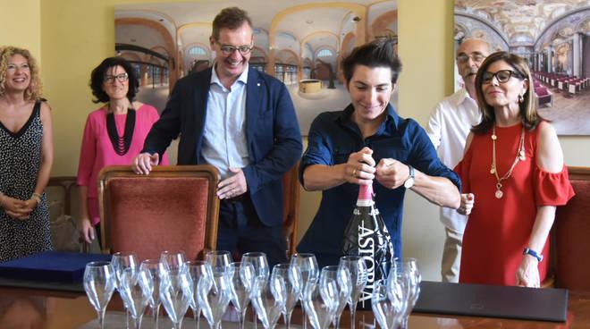 Giorgia Bronzini premiata in Comune