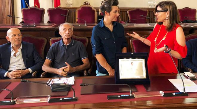 Giorgia Bronzini premiata in Municipio
