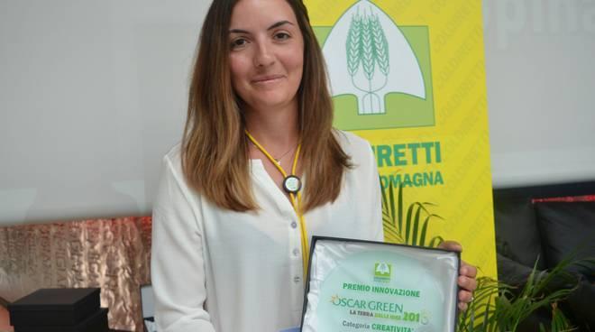 Gloria Merli, premio Innovazione di Coldiretti