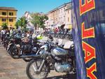 Il raduno Royal Enfield ad Agazzano