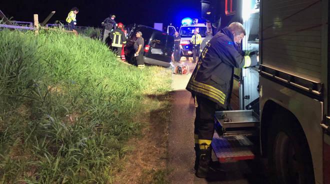 L'incidente a San Rocco al Porto