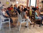 L'incontro antitruffa al circolo di via Di Vittorio