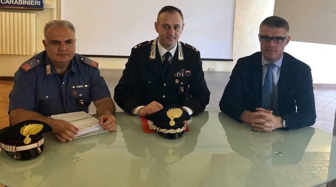 La conferenza stampa con il sindaco Veneziani