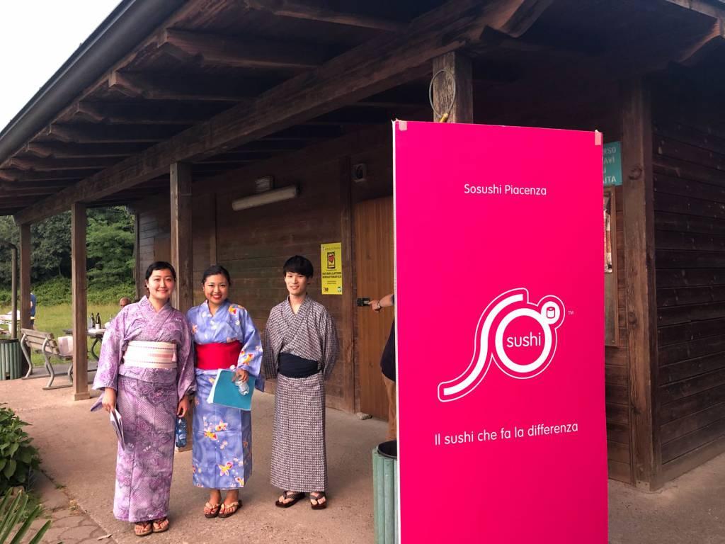 La festa giapponese al Parco della Galleana