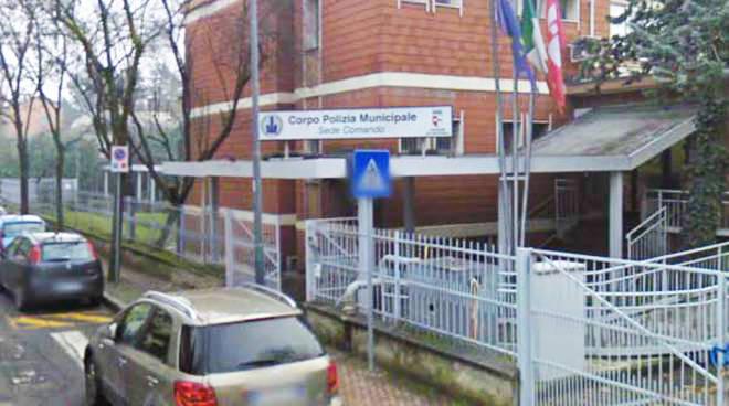 La sede di via Rogerio della polizia municipale