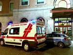 polizia e Croce Rossa