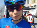 Sofia Collinelli in maglia azzurra (archivio FCI)