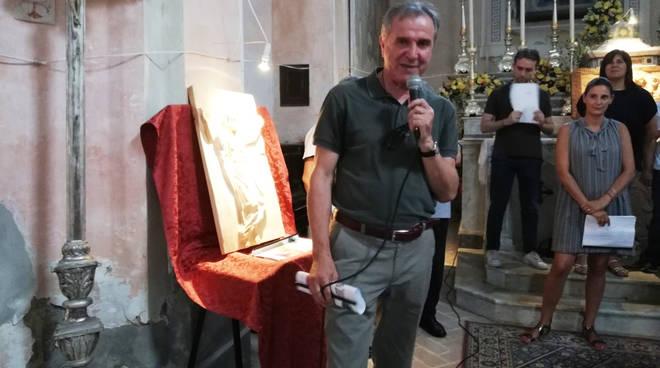 A Morfasso le sculture lignee di Marco Polledri