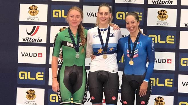 Europei U23, oro per Marta Cavalli nell'inseguimento individuale