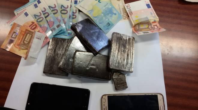 Droga sequestrata dai carabinieri della compagnia di Bobbio