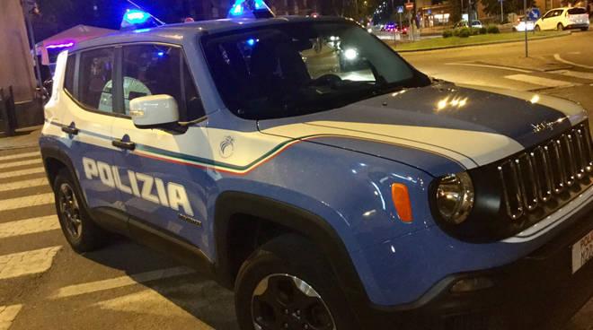 I controlli della polizia a Piazzale Marconi