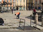 I richiedenti asilo al lavoro in Piazza Cavalli