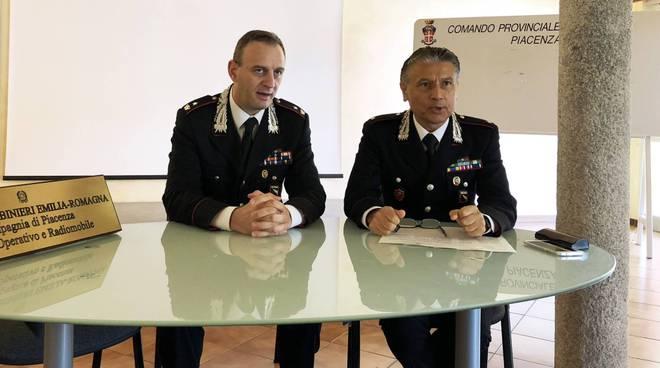 Il Maggiore Bezzeccheri e il tenente Cirella