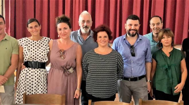 Il nuovo consiglio direttivo di Vita in Centro a Piacenza