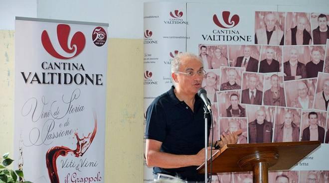 Il presidente Gianpaolo Fornasari