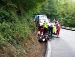 incidente moto statale 45