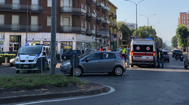 L'incidente in Piazzale Medaglie d'Oro