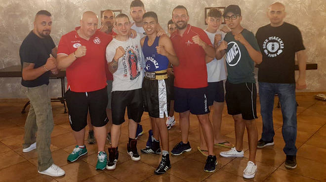 La squadra della Boxe Piacenza