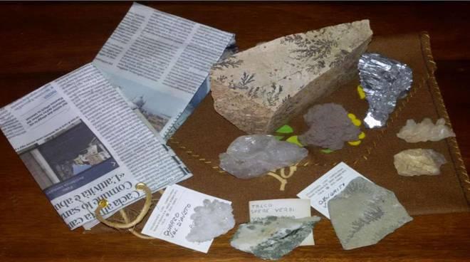 Lisore a caccia di minerali