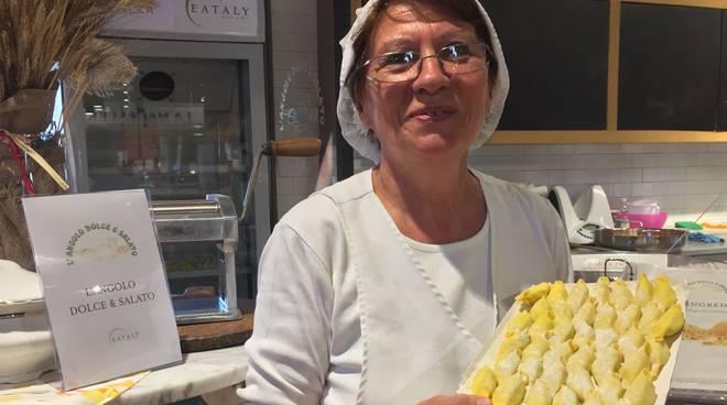 Lucia Lucchini del Pastificiodi Eataly Piacenza