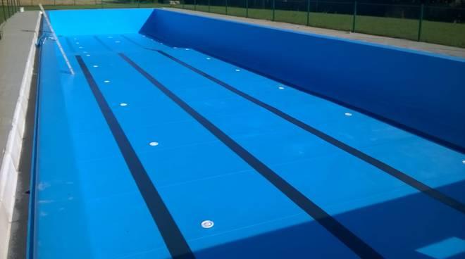 Nuova piscina di Vigolzone