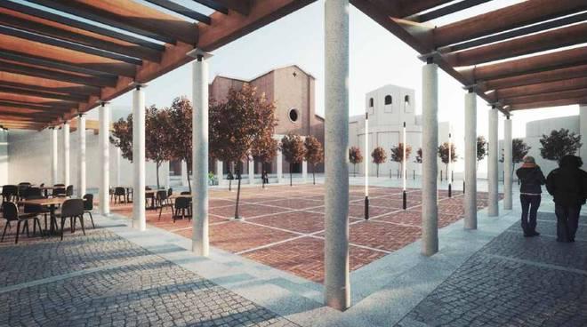 Progetto della nuova piazza Casali