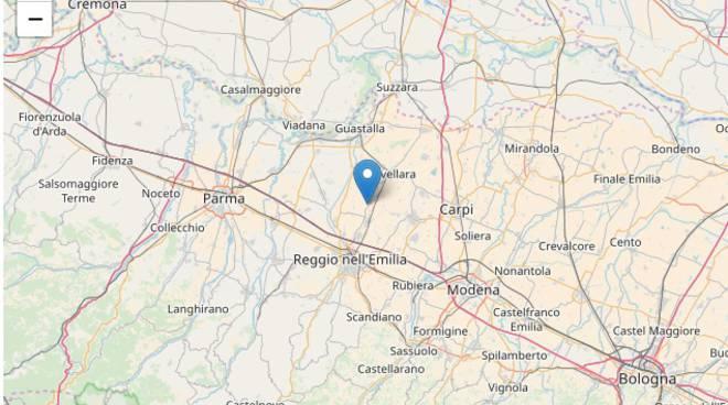 terremoto a Reggio Emilia