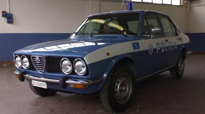 alfetta polizia
