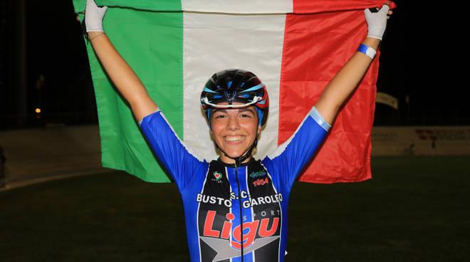 Aurora Mantovani (foto Ghilardi)