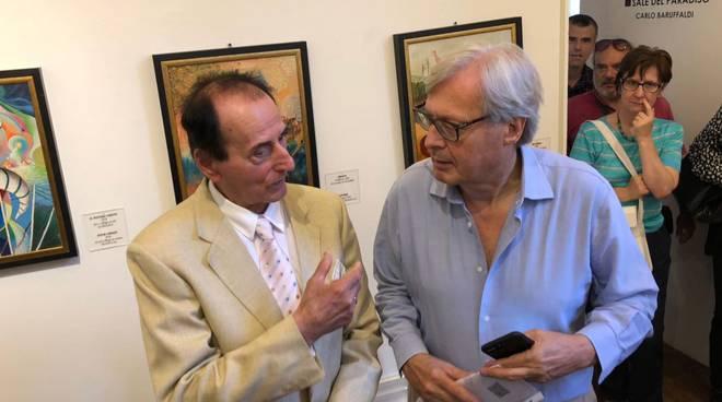 Carlo Baruffaldi e Vittorio Sgarbi